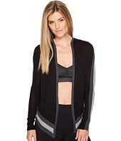 Blanc Noir - Hooded Wrap Cardigan