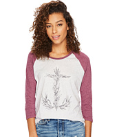 Hurley - Overgrown Long Raglan In