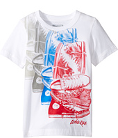 Converse Kids - Chuck Repeat Tee (Toddler/Little Kids)