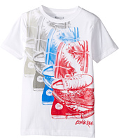 Converse Kids - Chuck Repeat Tee (Big Kids)