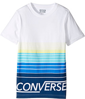 Converse Kids - Multi Stripe Tee (Big Kids)