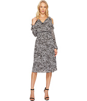 MICHAEL Michael Kors - Big Cat Cold Shoulder Dress