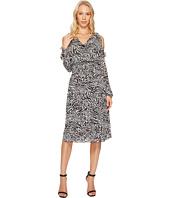 MICHAEL Michael Kors - Big Cat Cold Shoulder Dress
