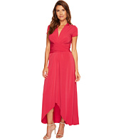 MICHAEL Michael Kors - Cap Sleeve Maxi Wrap Dress