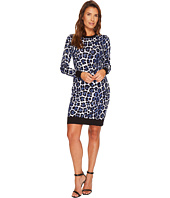 MICHAEL Michael Kors - Printed Sweater Dress