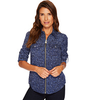 MICHAEL Michael Kors - Tweed Lock Zip Top