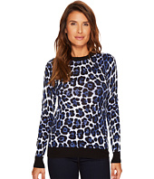 MICHAEL Michael Kors - Printed Sweater Top