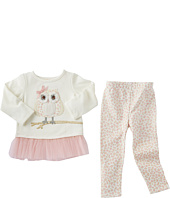 Mud Pie - Leopard Owl Tunic & Leggings Set (Infant/Toddler)