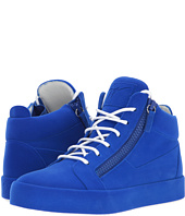 Giuseppe Zanotti - May London Mid Top Flocked Sneaker
