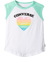 Converse Kids - I Heart Raglan Tee (Little Kids)