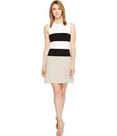 Calvin Klein - Color Block Lux Fit & Flare Dress CD7X145L