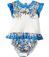 Dolce & Gabbana Kids - Floral Vase Body One-Piece (Infant)