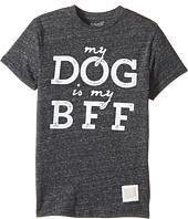 The Original Retro Brand Kids - My Dog is BFF Short Sleeve Tri-Blend Tee (Big Kids)