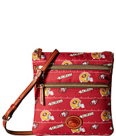 Dooney & Bourke - NFL Nylon North/South Triple Zip