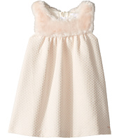 Chloe Kids - Sleeveless Faux Fur Dress (Toddler)