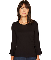 Lanston - Ruffle Long Sleeve Top