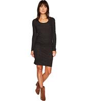 Lanston - Ruched Long Sleeve Shirtdress
