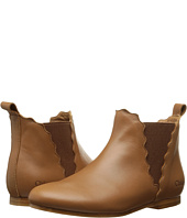 Chloe Kids - Mini Me Tan Leather Booties (Little Kid)