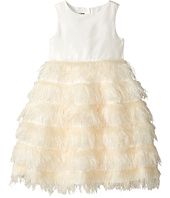 Oscar de la Renta Childrenswear - Ostrich Feather Party Dress (Toddler/Little Kids/Big Kids)