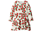 Rose Long Sleeve Frill Dress (Infant/Toddler/Little Kids/Big Kids)