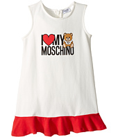 Moschino Kids - 'I Love My Moschino' Teddy Bear Sleeveless Dress (Infant/Toddler)