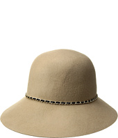 SCALA - Wool Felt Cloche w/ Chain