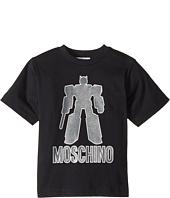 Moschino Kids - Graphic Transformer Short Sleeve T-Shirt (Little Kids/Big Kids)