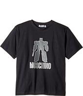 Moschino Kids - Graphic Transformer Short Sleeve T-Shirt (Big Kids)