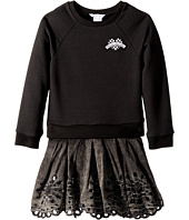 Little Marc Jacobs - Two-Piece Dress with Embroideries Details (Little Kids/Big Kids)