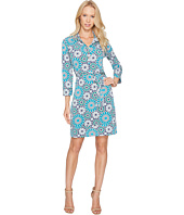 Donna Morgan - 3/4 Sleeve Jersey Shirtdress