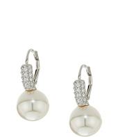Majorica - 10mm Round CZ Sterling Silver Earrings