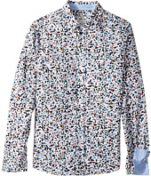 Paul Smith Junior - Confetti Print Buttoned Down Shirt (Big Kids)