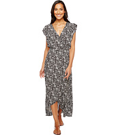 Splendid - Printed Ruffle Wrap Dress