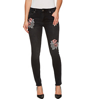 ROMEO & JULIET COUTURE - Embroidered Skinny Denim Pants