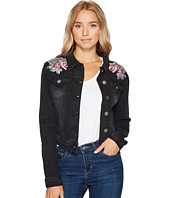 ROMEO & JULIET COUTURE - Embroidered Denim Jacket
