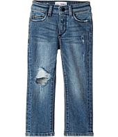 DL1961 Kids - Hawke Skinny Jeans in Crater Lake (Toddler/Little Kids/Big Kids)