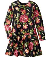 Dolce & Gabbana Kids - City Rose Print Dress (Big Kids)