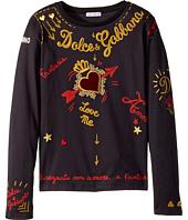 Dolce & Gabbana Kids - City Embroidered T-Shirt (Big Kids)