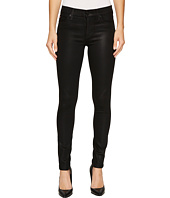 Hudson - Nico Mid-Rise Super Skinny in Noir Coated