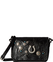 American West - Lariat Love Crossbody Flap Bag/Wallet