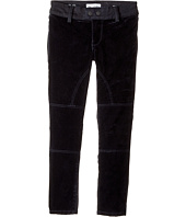 DL1961 Kids - Chloe Two-Tone Skinny Jeans in Blue Velvet (Big Kids)