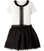 Us Angels - Short Sleeve Peter Pan Collar with A Drop Waist (Toddler/Little Kids)
