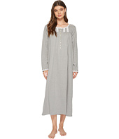 Eileen West - Heather Interlock Ballet Long Sleeve Nightgown