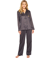 LAUREN Ralph Lauren - Satin Notch Collar Pajama