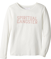 Spiritual Gangster Kids - SG Varsity Thermal Top (Big Kids)
