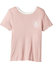 Spiritual Gangster Kids - Heart Outline Tee (Big Kids)