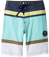 VISSLA Kids - Waterline Four-Way Stretch Boardshorts 17