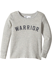 Spiritual Gangster Kids - Warrior Arch Thermal Top (Toddler/Little Kids/Big Kids)