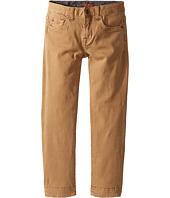 7 For All Mankind Kids - Stretch Twill Slimmy Pants in Khaki (Little Kids/Big Kids)