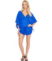 Luli Fama - Tropical Princess Cabana V-Neck Dress Cover-Up